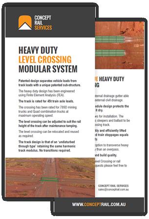 CRS Heavy Duty Level Crossing Modular System